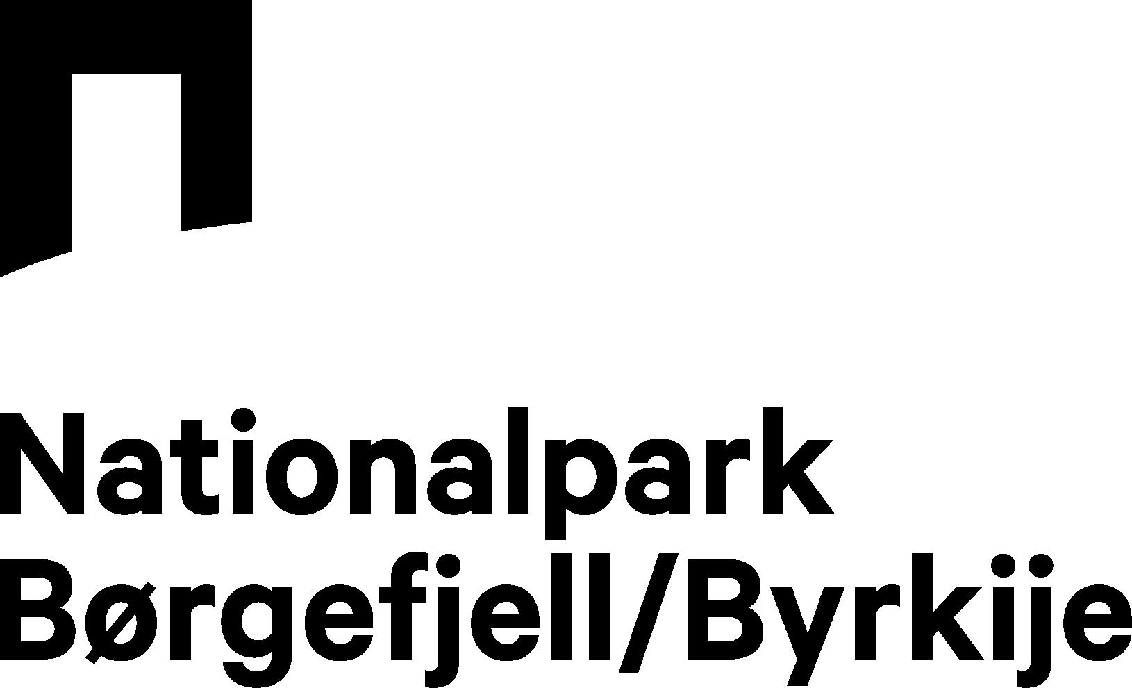 Logo Willkommen im wilden und wunderschönen Nationalpark Børgefjell/Byrkije