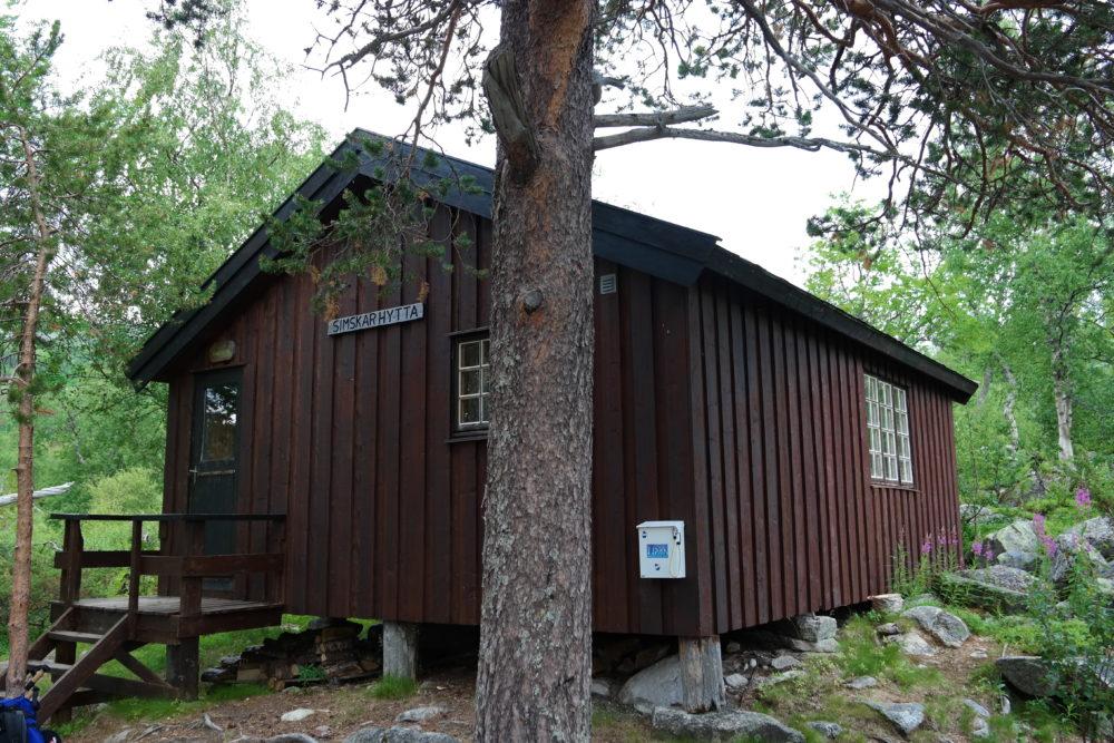 Simskardhytta er en åpen hytte for besøkende i Børgefjell